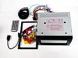 Магнітола Pioneer PI-713 2din GPS кольорова камера і TV антена, фото 3