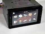 Магнітола Pioneer PI-713 2din GPS кольорова камера і TV антена, фото 5