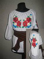 Вышивка женской одежды