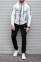 Мужской спортивный костюм EA7 белый