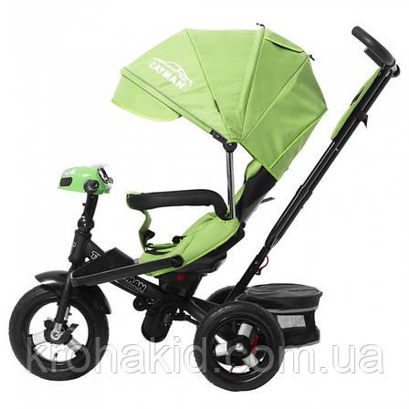 Велосипед трехколесный TILLY CAYMAN T-381 зеленый, фото 2