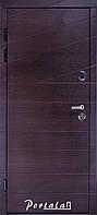 Двери квартирные, серия Премиум, модель Диагональ2, гнутый профиль, коробка 150 мм, полотно 105мм,  KALE257