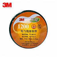 Изолента 3M™ 1200 (черная, 17 мм x 18,3 м x 0,12 мм)
