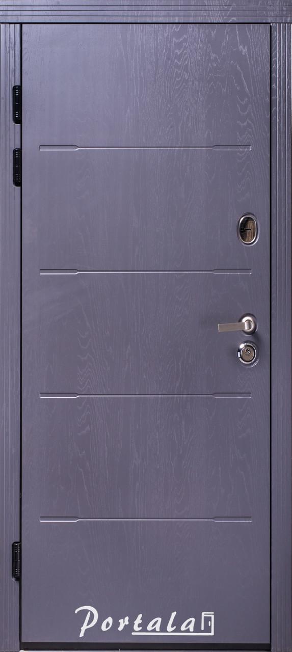Двери квартирные, серия Премиум, модель Токио2, гнутый профиль, коробка 150 мм, полотно 105мм,  KALE257