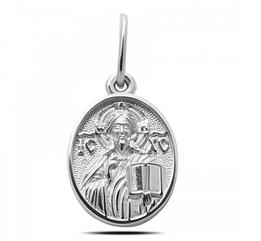 Серебряная ладанка Иисус Христос