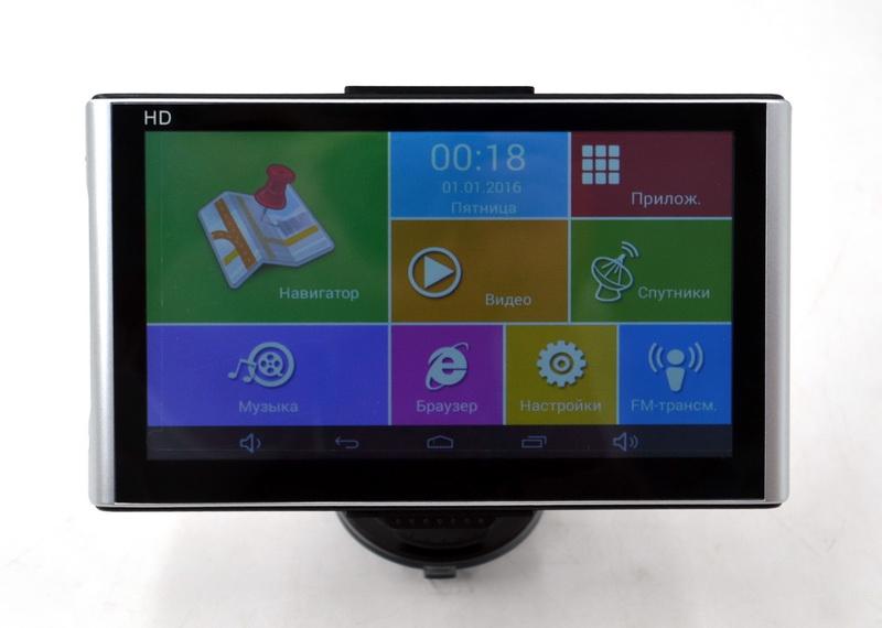 "Автомобильный GPS-навигатор на Android Pioneer X7 (7"" / RAM 512 Mb / 16 Gb) Bluetooth и WiFi"