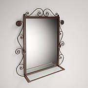 Зеркало Ричмонд настенное в ковке