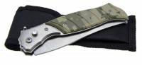 Складной нож 388 камуфляжный Большой, фото 2