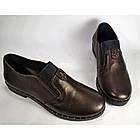 Туфли женские кожаные на танкетке  Nansy Black , весна/осень, размер 36-41, фото 3