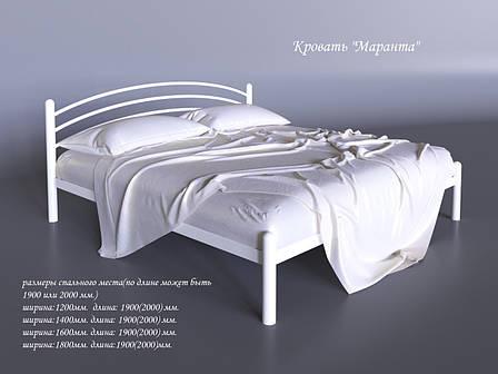 Металлическая кровать Маранта (с доставкой), фото 2
