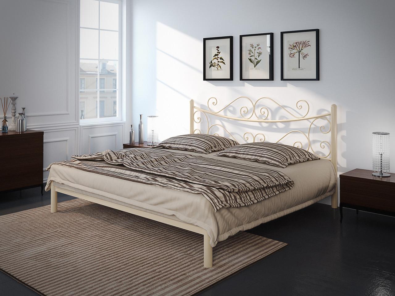 Металлическая кровать Азалия (с доставкой)
