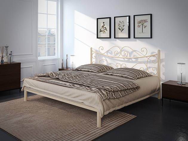 Металлическая кровать Азалия (с доставкой), фото 2