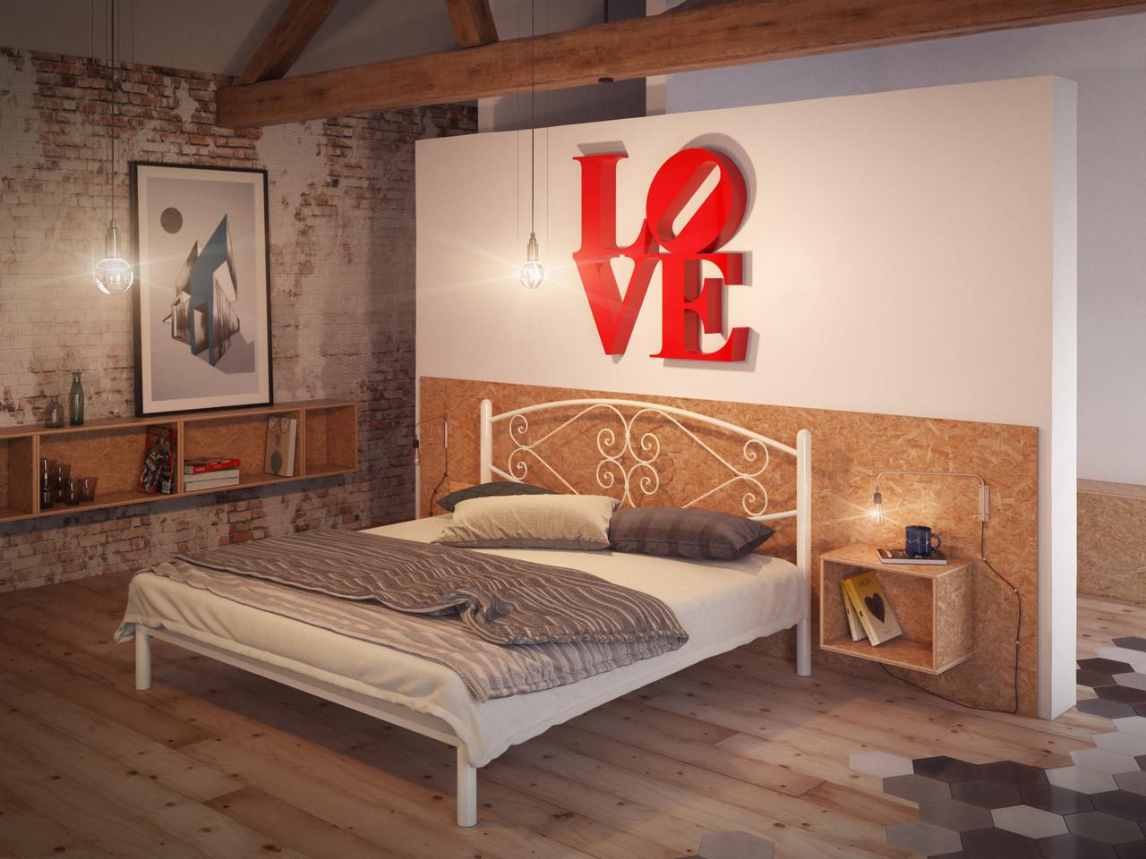 Металлическая кровать Камелия (с доставкой)