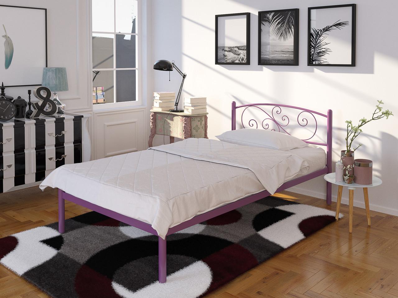 Металлическая одноместная кровать Лилия Мини