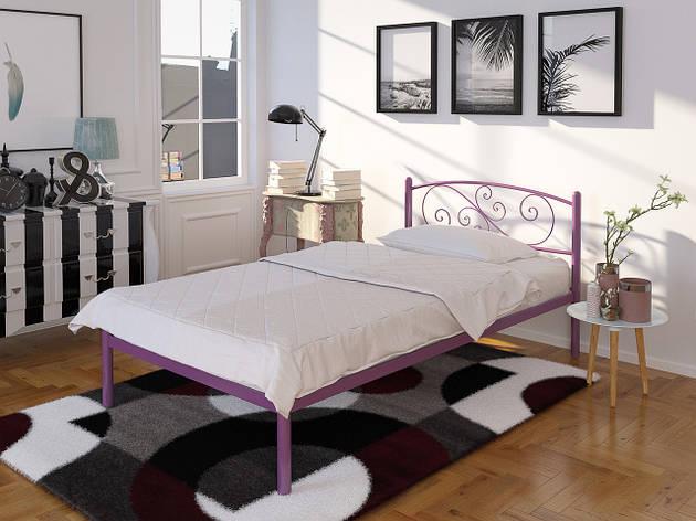 Металлическая одноместная кровать Лилия Мини, фото 2