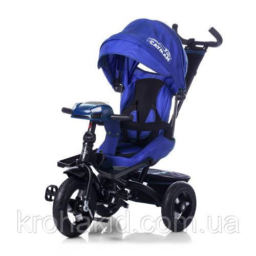 Велосипед трехколесный TILLY CAYMAN T-381 синий