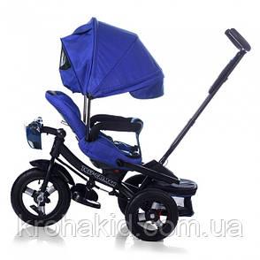 Велосипед трехколесный TILLY CAYMAN T-381 синий, фото 2