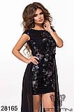 Восхитительное женское вечернее платье 42-44,44-46р (3расцв), фото 3