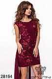 Восхитительное женское вечернее платье 42-44,44-46р (3расцв), фото 9