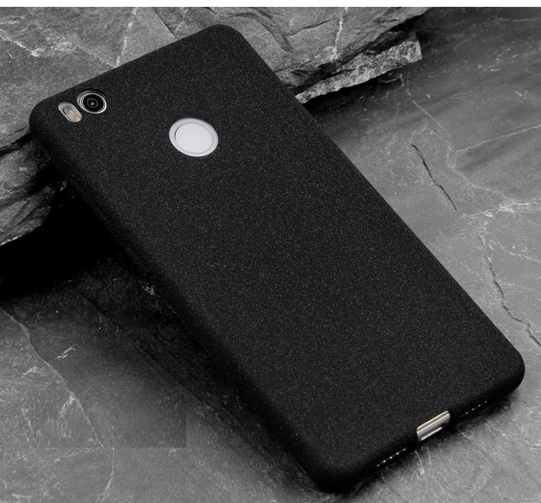 Чехол MAKAVO для Xiaomi Redmi 4X  Бампер Матовый ультратонкий черный