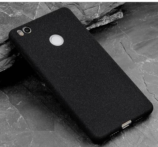 Чехол MAKAVO для Xiaomi Redmi 4X  Бампер Матовый ультратонкий черный, фото 2