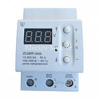 Защита от перенапряжения ZUBR D63t (реле напряжения и защиты)