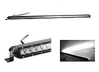 Дополнительные светодиодные противотуманные LED фары балки (1шт) LC4 5D 250W комбо свет 1295x43x80 LED-фары