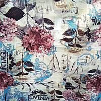 Мебельная ткань флок антикоготь производитель Канада ширина флока 150 см сублимация 6128, фото 1