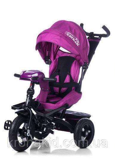 Велосипед трехколесный TILLY CAYMAN T-381 фиолетовый
