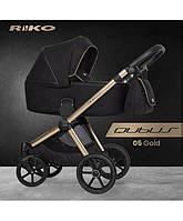 Детская универсальная коляска 2 в 1 Riko Qubus - 05 - gold