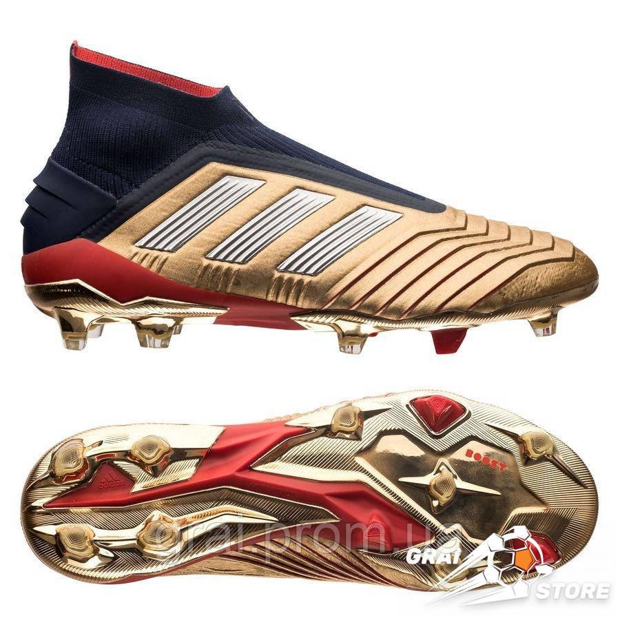 df261f66 Бутсы Adidas Predator 19+ FG/AG Zidane-Beckham Gold/Silver, цена 9 ...
