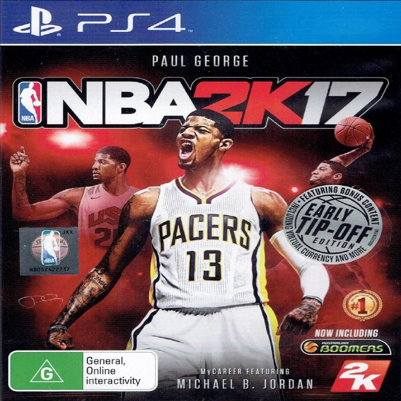 NBA 2K17 (англійська версія) PS4 (Б/В)