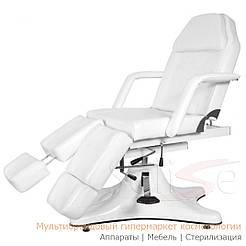 Педикюрно – косметологическая кресло-кушетка на гидравлическом подъемнике ZD-823A