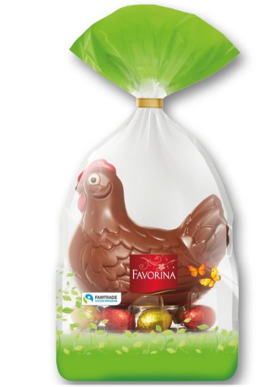 Шоколадная курочка Favorina 250 г