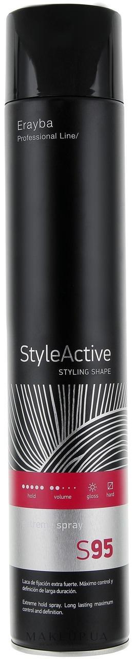 Лак для волос сильной фиксации Erayba S95 Extreme Spray 750 мл