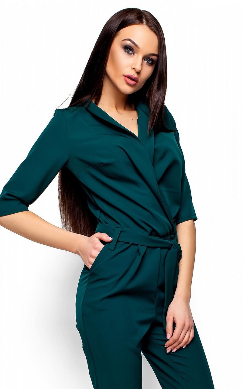 (S, M, L) Стильний зелений жіночий комбінезон Filisia