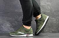 Мужские кроссовки Reebok темно зеленые / кроссовки мужские Рибок