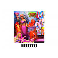 Кукла Русалочка с дочкой меняет цвет хвоста, Русалка 68030