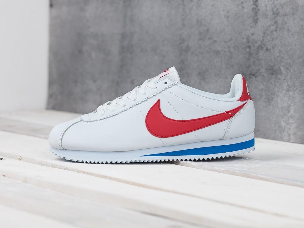 new arrivals a0fa5 23960 Мужские кроссовки в стиле Nike Cortez White/Red, белые 46 (29,5 см) -  Bigl.ua