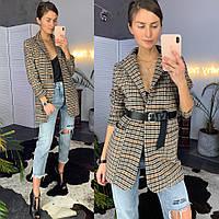 Женский удлиненный пиджак в расцветках. ЛД-20-0319