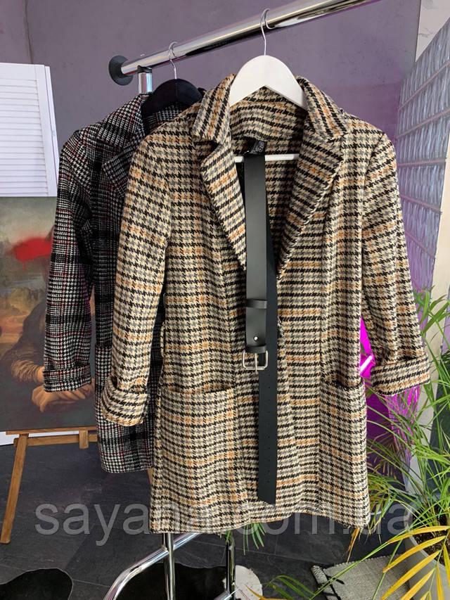 женский пиджак с поясом оптом