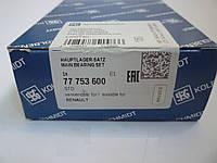 Вкладыши коренные STD RENAULT Trafic II 1,9dCi (производство KOLBENSCHMIDT)