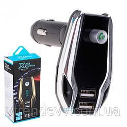 Модулятор трансмиттер с Bluetooth FM X8 Plus