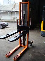 Штабелер ручной гидравлический 1600 мм. 1000 кг. Наличие на складе