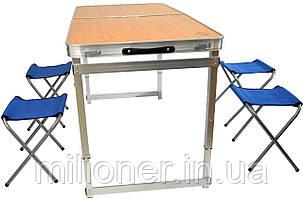 Раскладной стол для пикника со стульями Bonro модель C, фото 2