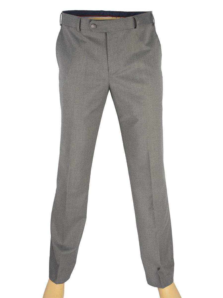 Сірі чоловічі класичні брюки Giordano Conti B 605 №1 Leon