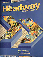 New Headway INTERMEDIATE  Students Book, Work Book, Teachers Book, Activity Book