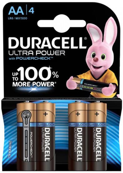 Батарейка Duracell LR 06 Ultra 4шт/бл