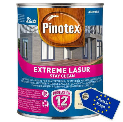 PINOTEX EXTREME LASUR 10л (ПИНОТЕКС ЭКСТРИМ ЛАЗУРЬ), фото 2