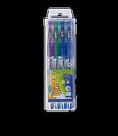Н-р з 4-х гелевих ручок GLITTER (з блисківками)